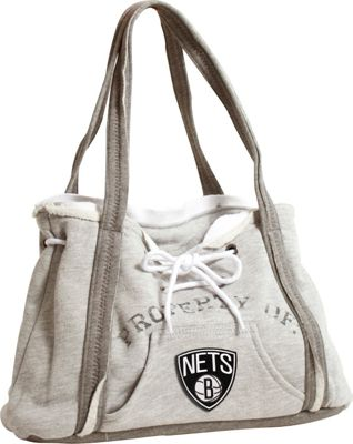 Littlearth Hoodie Purse - NBA Teams Brooklyn Nets - Littlearth Fabric Handbags